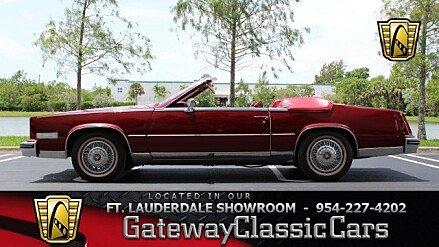 1985 Cadillac Eldorado Biarritz Convertible for sale 101002329