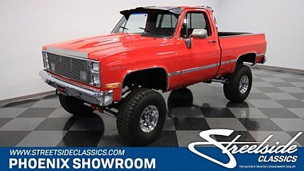 1985 Chevrolet C/K Truck 4x4 Regular Cab 1500 for sale 101024153