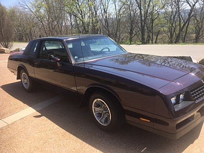 1985 Chevrolet Monte Carlo SS for sale 101006501