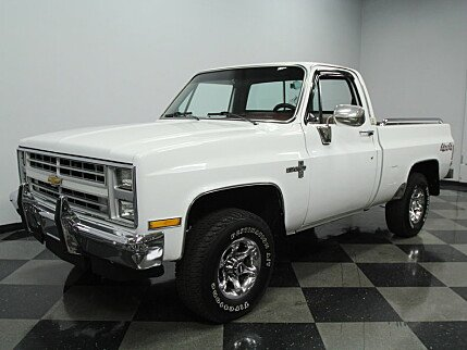 1985 Chevrolet Silverado and other C/K1500 4x4 Regular Cab for sale 100733862