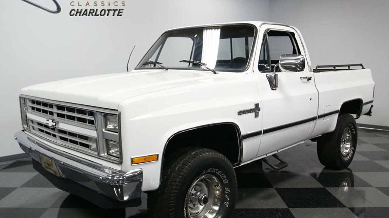 1985 Chevrolet Silverado and other C/K1500 4x4 Regular Cab for sale 100890826