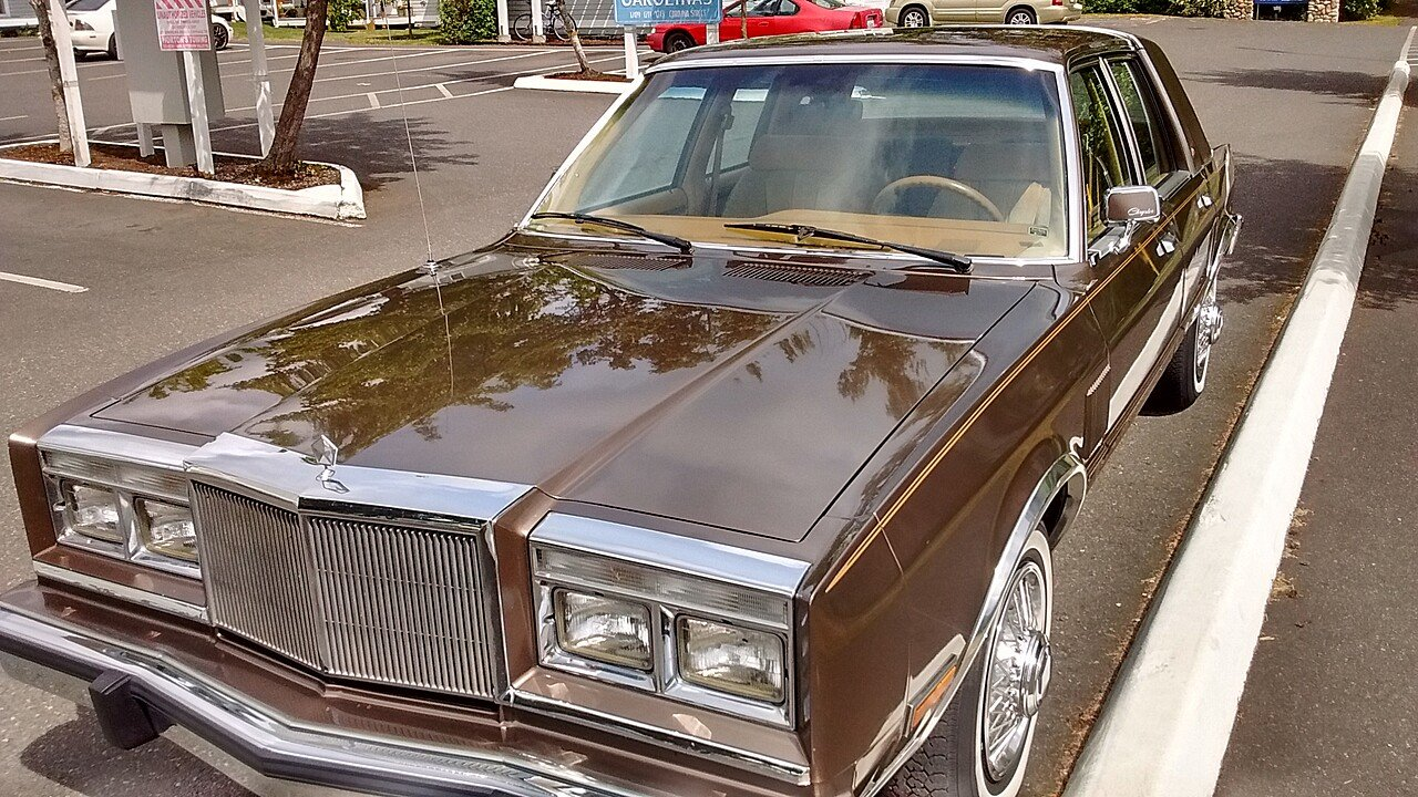 1985 Chrysler Fifth Avenue for sale 100798502