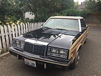 1985 Chrysler LeBaron Convertible for sale 100881141