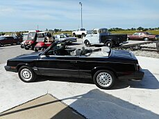 1985 Dodge 600 Convertible for sale 100876417
