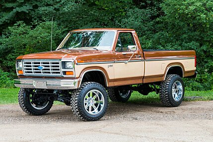 1985 Ford F250 4x4 Regular Cab for sale 100785159
