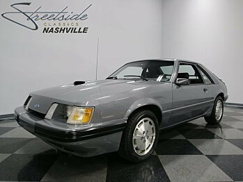 1985 Ford Mustang SVO Hatchback for sale 100819893