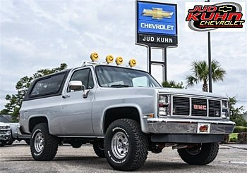 1985 GMC Jimmy 4WD for sale 100978769