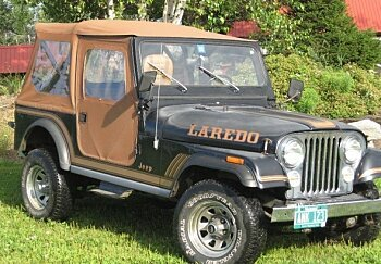 1985 Jeep CJ 7 for sale 100903530