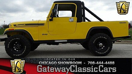 1985 Jeep Scrambler for sale 100981130