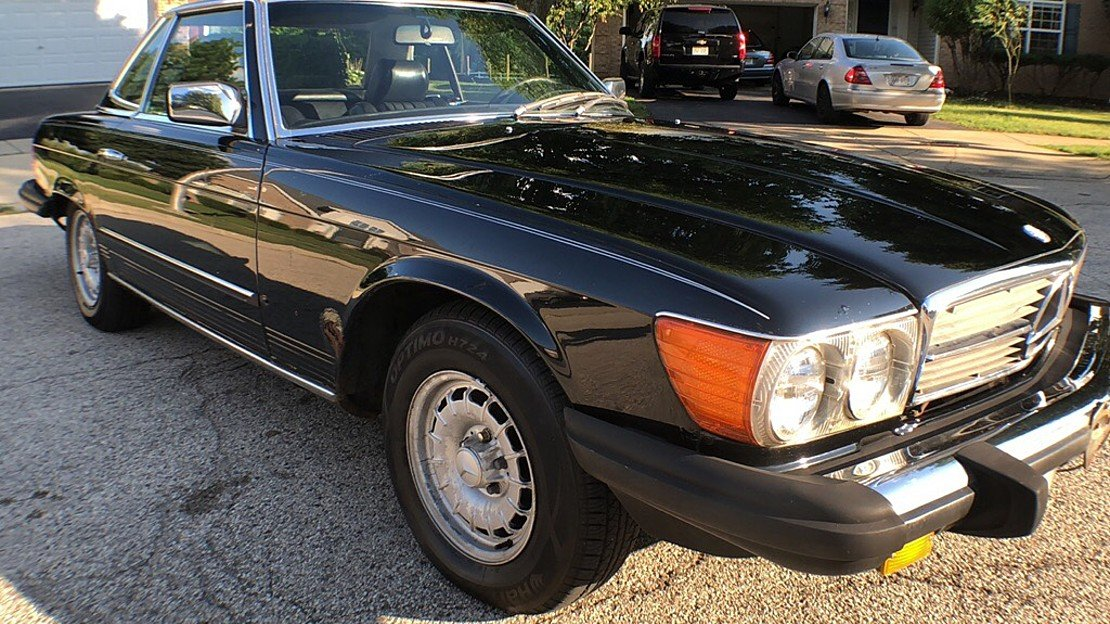 1985 Mercedes-Benz 380SL for sale 101047212