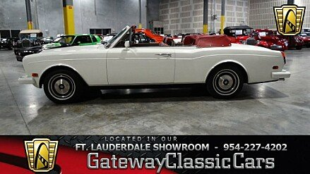 1985 Rolls-Royce Corniche for sale 100876314