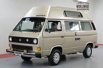 1985 Volkswagen Vanagon Camper for sale 101026887