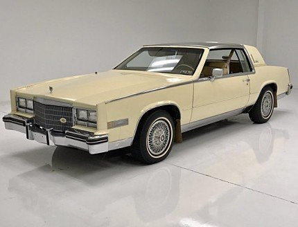 1985 cadillac Eldorado Coupe for sale 101001067