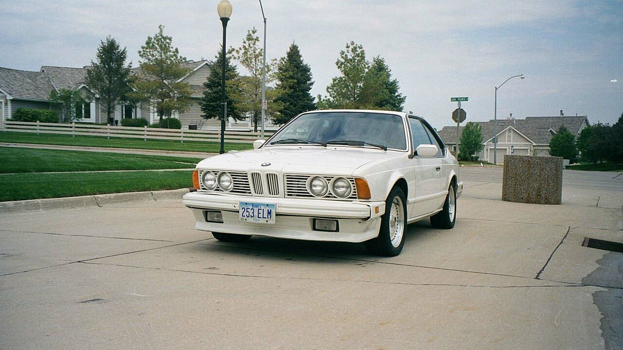 1986 BMW 635CSi Coupe for sale 101009346