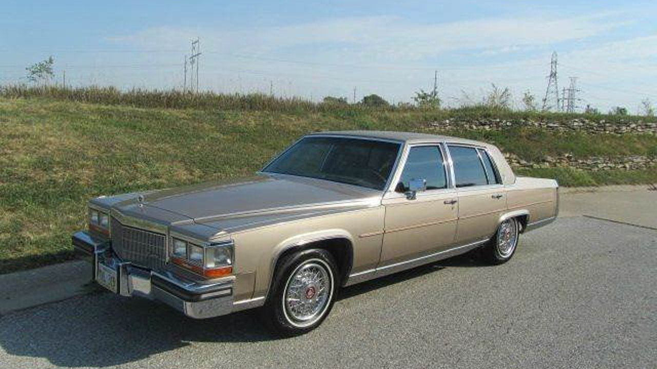 1986 Cadillac Fleetwood Brougham Sedan for sale near Omaha, Nebraska ...