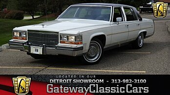 1986 Cadillac Fleetwood for sale 101039075
