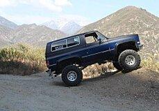 1986 Chevrolet Blazer for sale 100792083