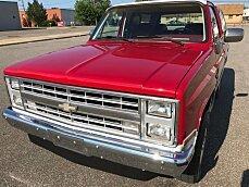 1986 Chevrolet Blazer 4WD for sale 100898491
