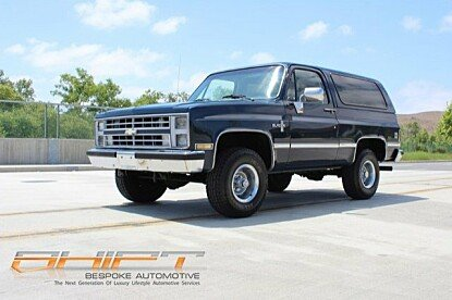 1986 Chevrolet Blazer 4WD for sale 100993523