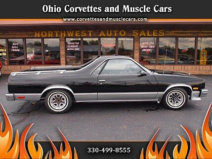 1986 Chevrolet El Camino V8 for sale 100910501