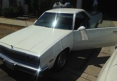 1986 Chevrolet El Camino for sale 100923305