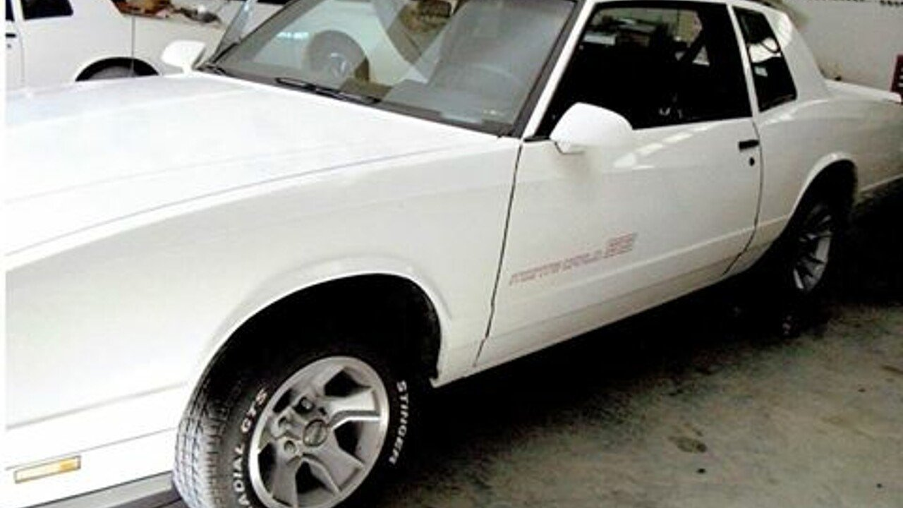 1986 Chevrolet Monte Carlo for sale 100832234