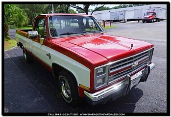 1986 Chevrolet Silverado and other C/K1500 2WD Regular Cab for sale 100779185