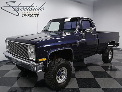 1986 Chevrolet Silverado and other C/K1500 4x4 Regular Cab for sale 100839743