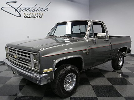 1986 Chevrolet Silverado and other C/K1500 4x4 Regular Cab for sale 100855358