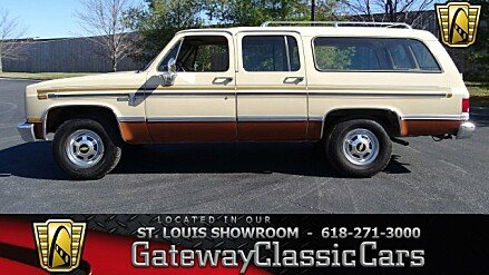 1986 Chevrolet Suburban 2WD 2500 for sale 100965914