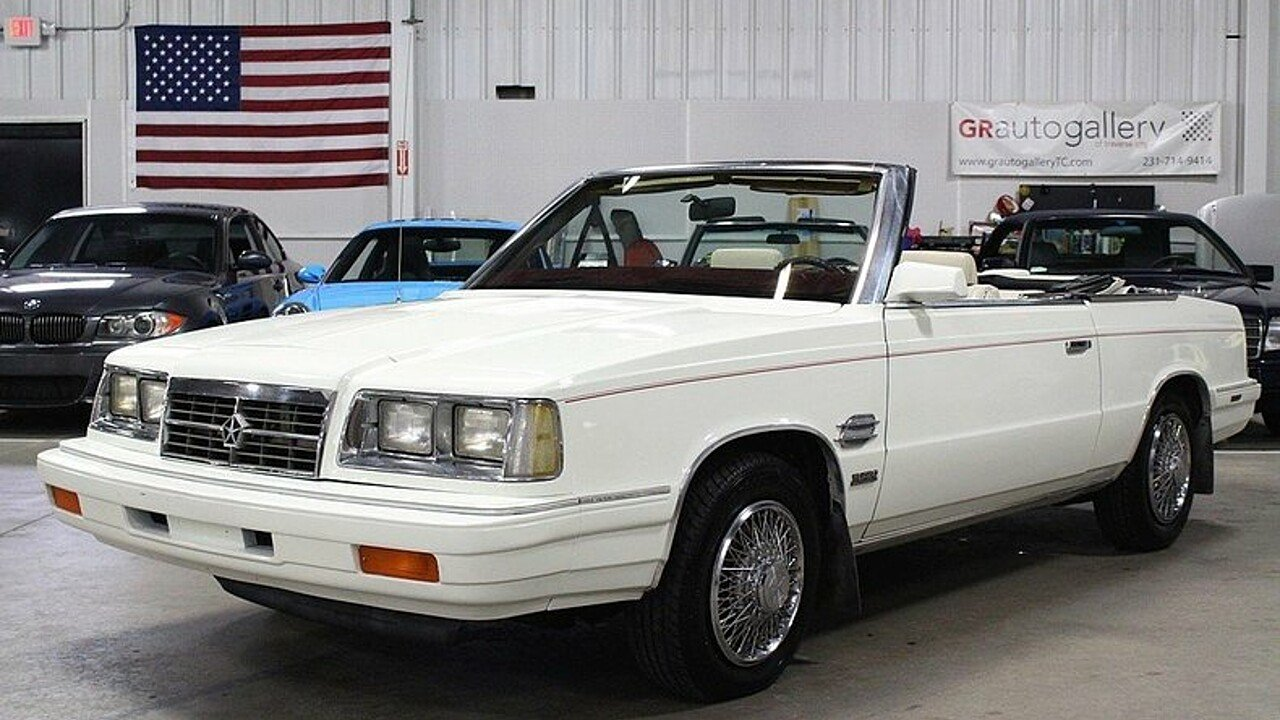 1986 Dodge 600 ES Convertible for sale 100895710