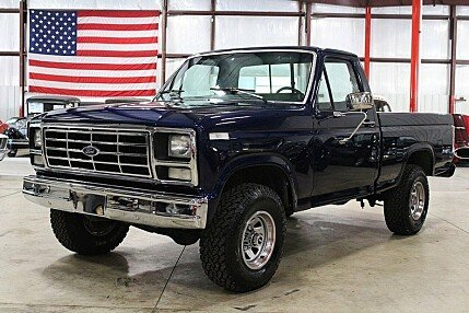 1986 Ford F150 4x4 Regular Cab for sale 100892905