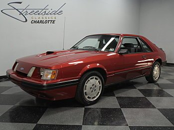 1986 Ford Mustang SVO Hatchback for sale 100744521