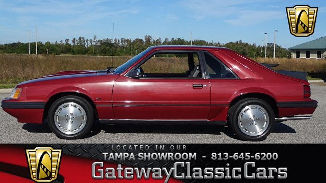 1986 Ford Mustang SVO Hatchback for sale 100949331