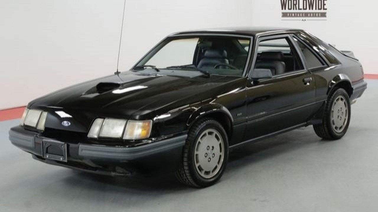 1986 Ford Mustang SVO Hatchback for sale near Denver, Colorado 80205 ...