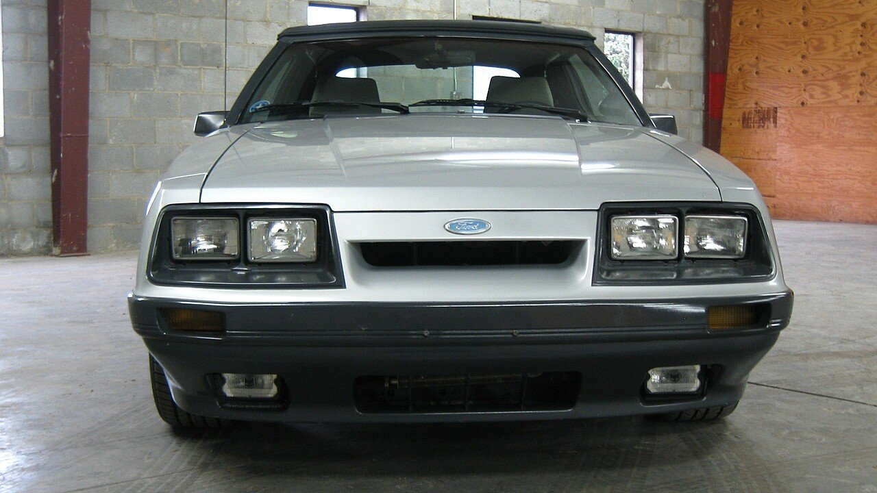 1986 Ford Mustang Gt Convertible For Sale Near Greer South Carolina 100962865