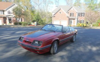 1986 Ford Mustang Convertible for sale 100878465