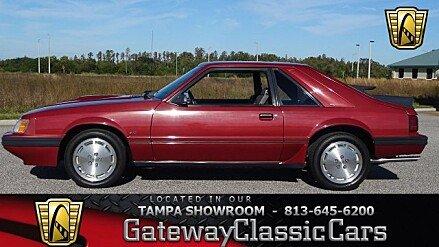 1986 Ford Mustang SVO Hatchback for sale 100933626