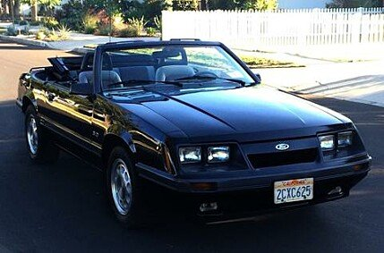 1986 Ford Mustang Convertible for sale 101007637
