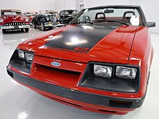 1986 Ford Mustang Convertible for sale 101025549