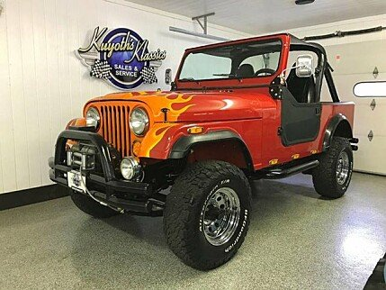 1986 Jeep CJ 7 for sale 100888627