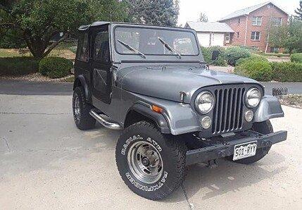 1986 Jeep CJ 7 for sale 100907504