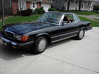 1986 Mercedes-Benz 560SL for sale 100736010