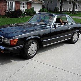 1986 Mercedes-Benz 560SL for sale 100736010