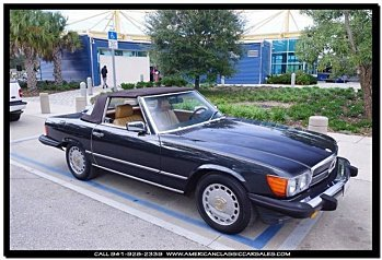 1986 Mercedes-Benz 560SL for sale 100835112