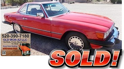1986 Mercedes-Benz 560SL for sale 100892659