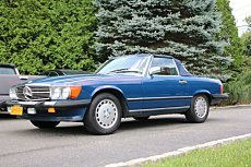 1986 Mercedes-Benz 560SL for sale 101023085