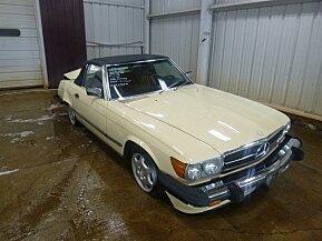 1986 Mercedes-Benz 560SL for sale 101031482