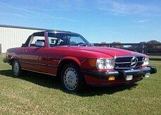 1986 Mercedes-Benz 560SL for sale 101054905
