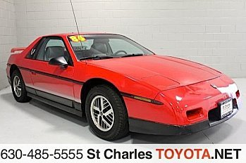 1986 Pontiac Fiero SE for sale 100777507
